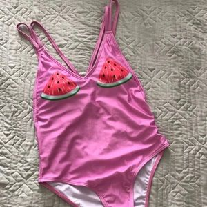 Other - Watermelon One Piece Swimsuit